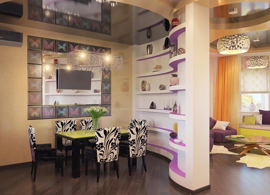 Дизайн столовой в частном доме от In Interior Studio