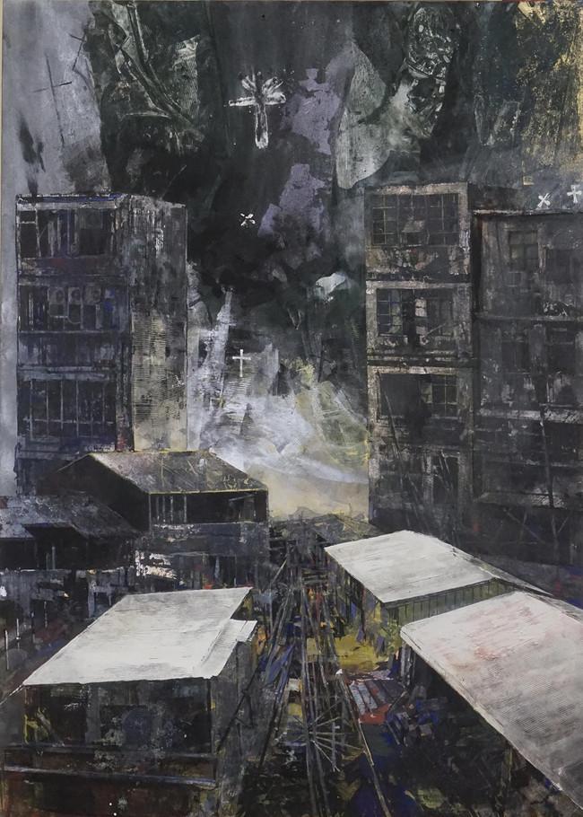 関谷理 02 「distortion-2021」