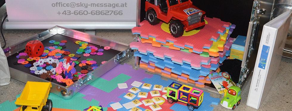 kidsbox, mobile Spielecke (Miete)