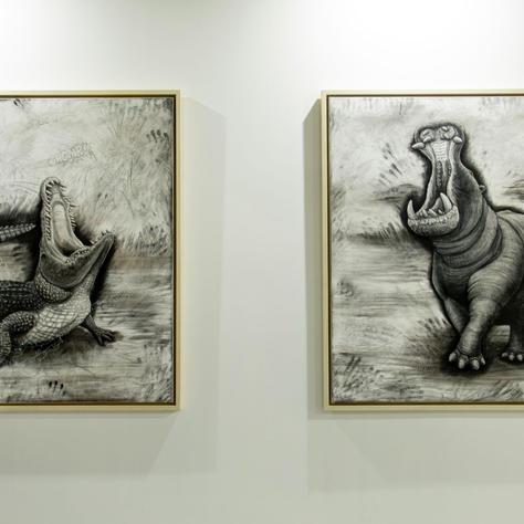 Tom Van Herewege: The Nile Crocodile and The Hippopotamus