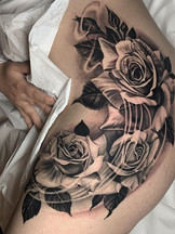 Roses for Sendy!🌹 some healed part and