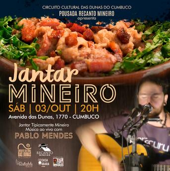 Jantar Mineiro - Recanto Mineiro