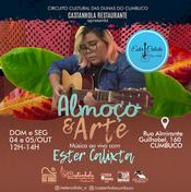 Almoço e Arte - Restaurante Castanhola
