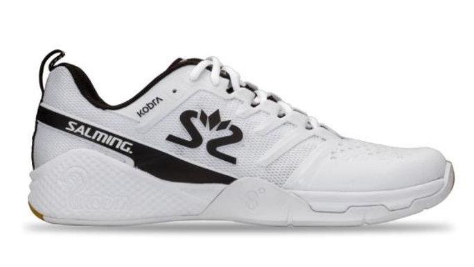 Salming Kobra 3 Men White Black Squash Shoe Launch
