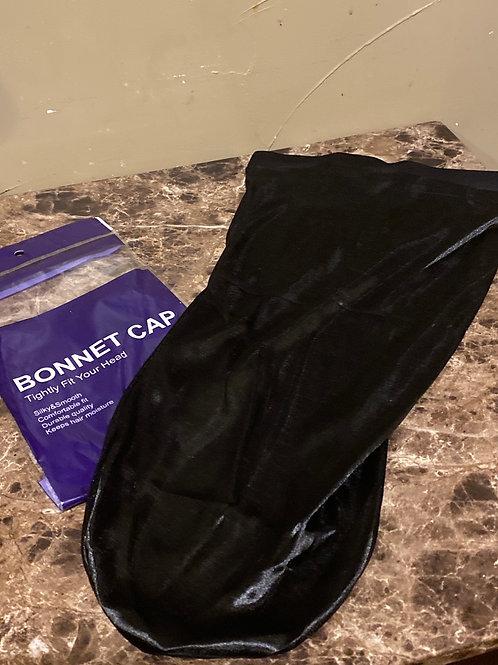 XL Black Bonnet GREAT FOR LONG LOCS/HAIR