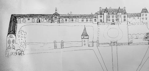 Chateau de gizeux camille obligis endive