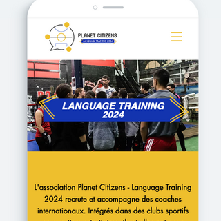 Planet Citizens - Webdesign