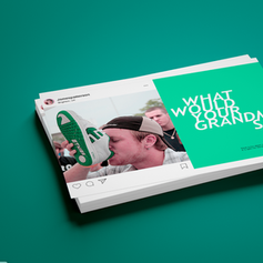 """""""What would your grandma say?"""" - Campagne publicitaire"""