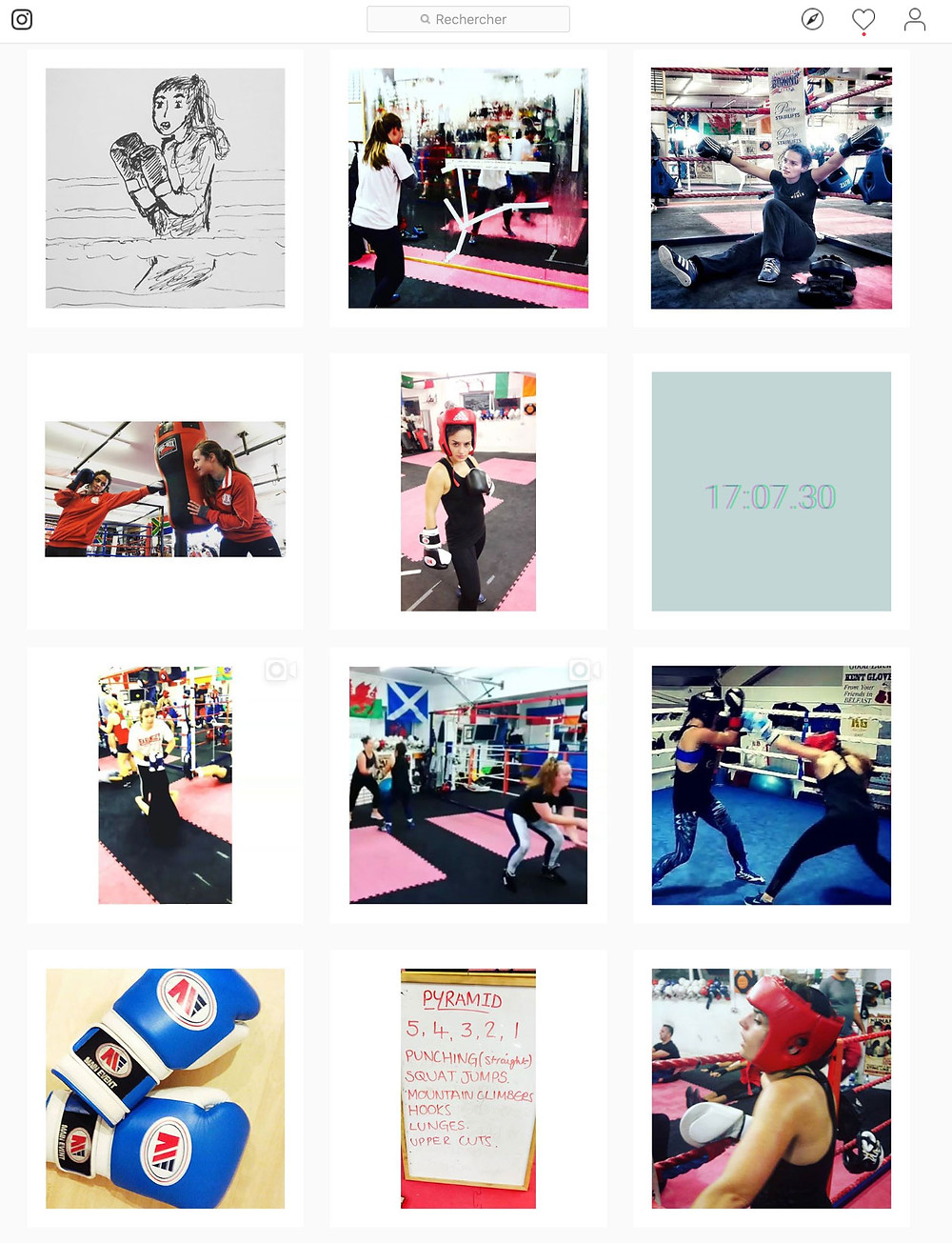 Hitlikegirls, influencer blog, blog, boxing, boxing marketing, camille obligis, digital marketing