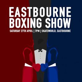 Eastbourne Boxing Club - illustration et poster par Camille Obligis