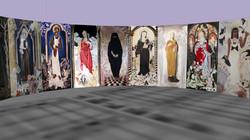 Madonna's op rij