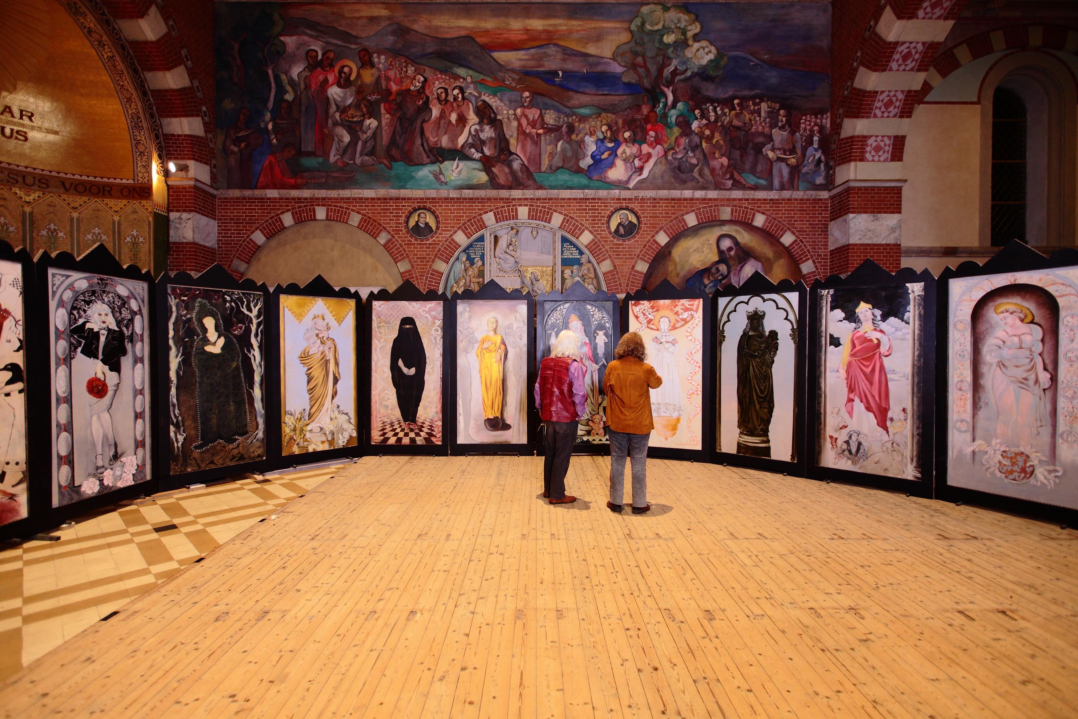 Madonna's in Obrechtkerk