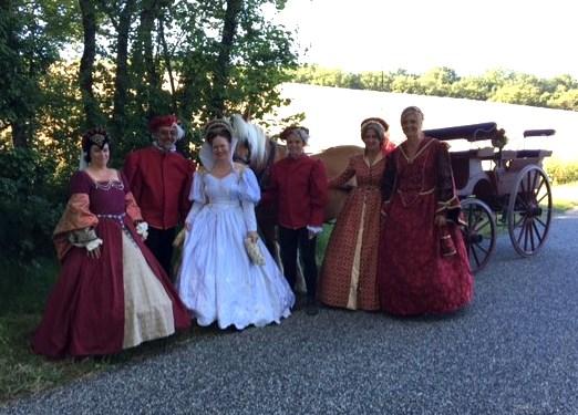 Mariage style 16ème siècle