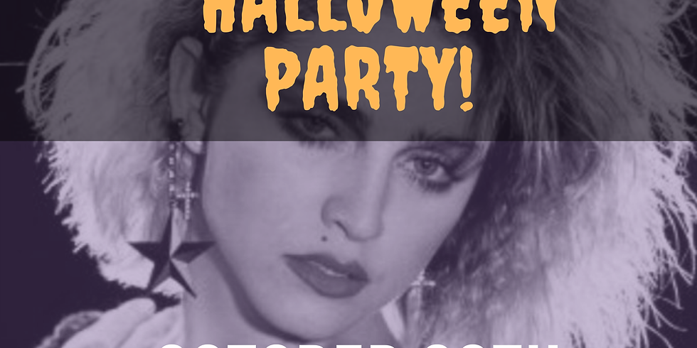 80's Themed Halloween Party!