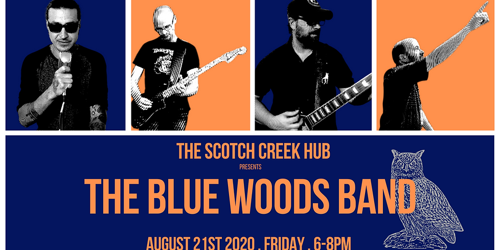 THE BLUE WOODS BAND