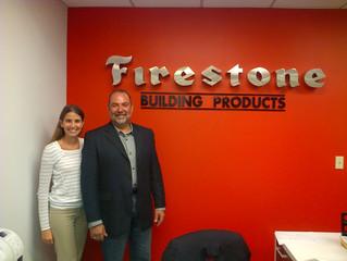 Alfredo França visita a Firestone de Miami - EUA