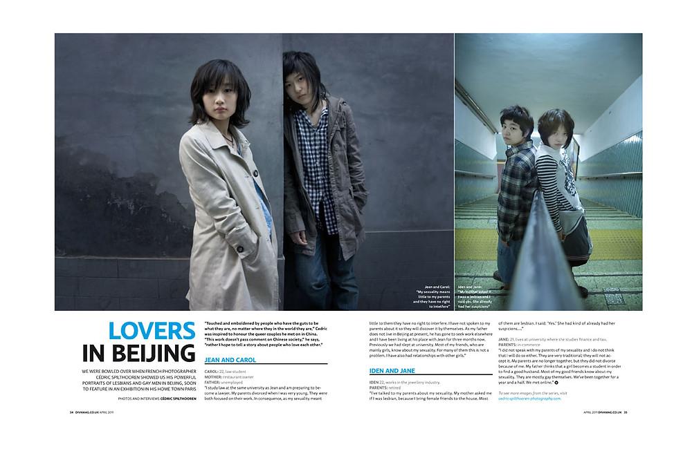 Published in Diva magazine-England (april-2011)