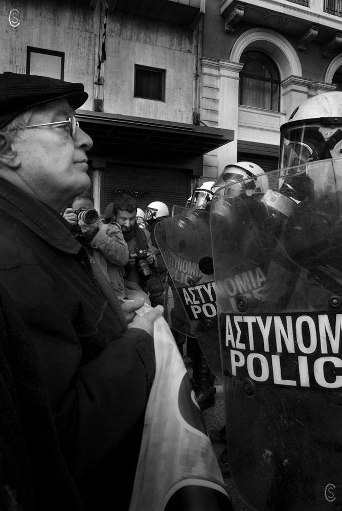 Demonstration-Athens-Nov 17th 2011