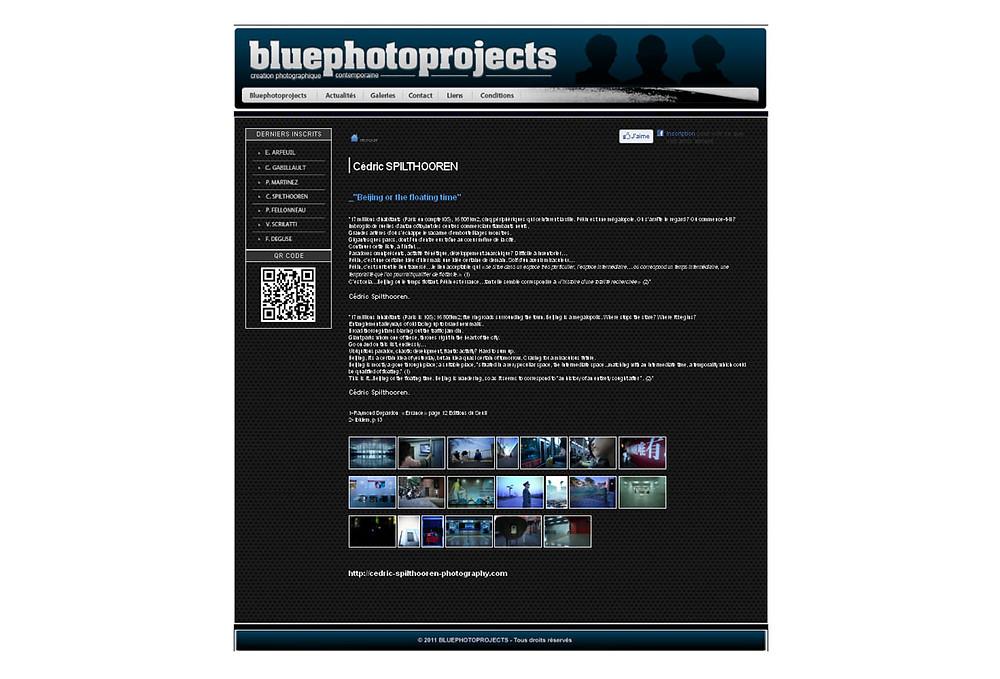 Published in Le Bleu du Ciel-Online Gallery-France (february 2011)