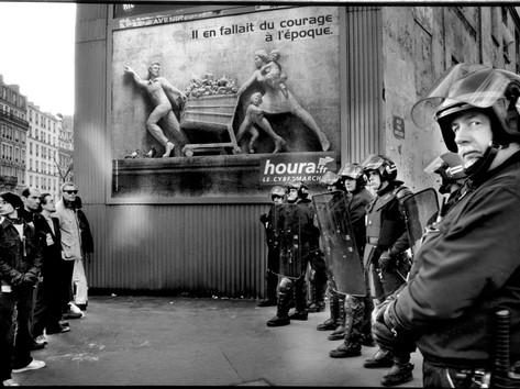 14-Demonstration against Irak war_Paris-
