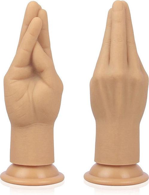 """Ρεαλιστικό Dildo """"Silicone Nature Hand"""" (18cm)"""