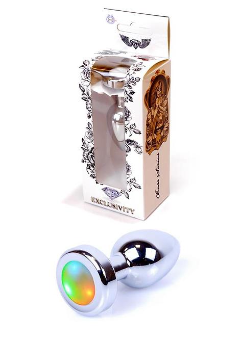 Πρωκτική Σφήνα Φωτιζόμενη PLUG - Disco Flashlight