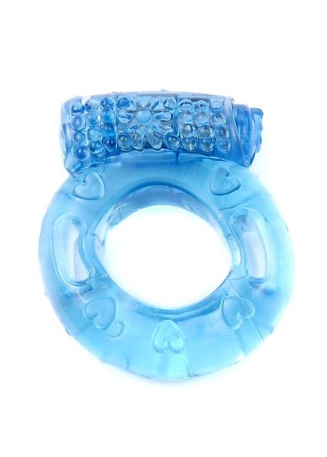 Δονούμενο Δαχτυλίδι Πέους -Μπλε