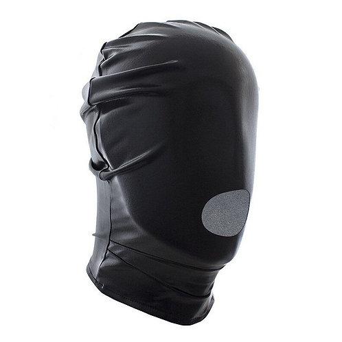 Πλήρης μάσκα με στόμα Μαύρη one size- FULL MASK WITH MOUTH HOLE - BLACK