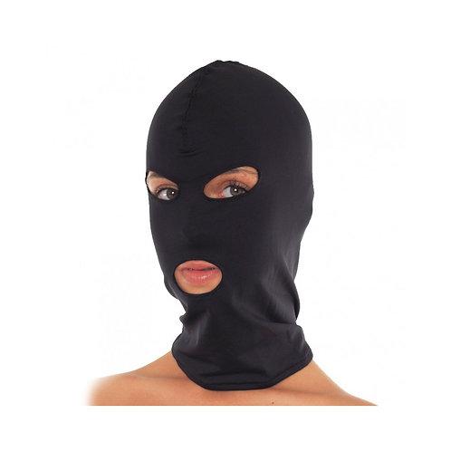 Ανοιχτή μάσκα στόματος και ματιών μαύρη one size-Open Mouth and Eyes Mask