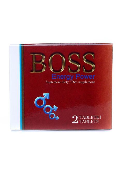 Αντρικό Διεγερτικό Χάπι Boss Energy Power Ginseng-2τμχ