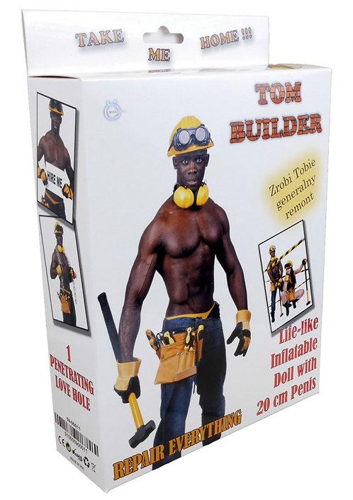 """Φουσκωτή Love Doll """"Tom Builder"""" - Έγχρωμος"""