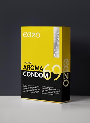 Προφυλακτικά  EGZO AROMA -3τμχ