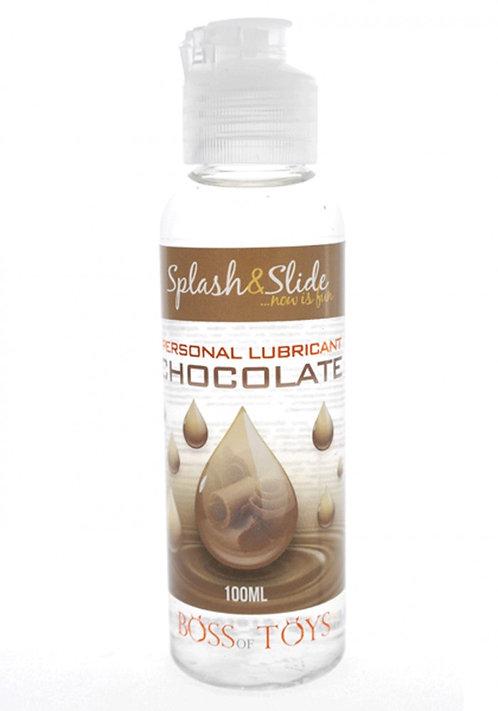 Λιπαντικό με βάση το νερό και γεύση σοκολάτας 100ML-LUBRICANT CHOCOLATE