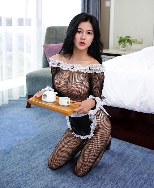 Στολή Υπηρέτρια Body Pleasure