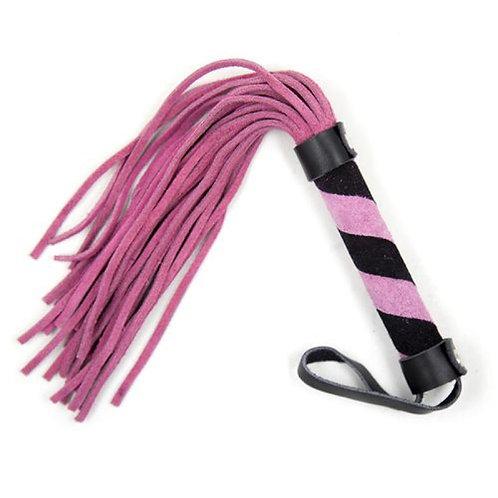 Δερμάτινο Μαστίγιο Line Whip - Ροζ