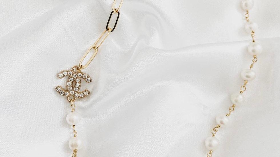 Daphne Pearl CC Necklace