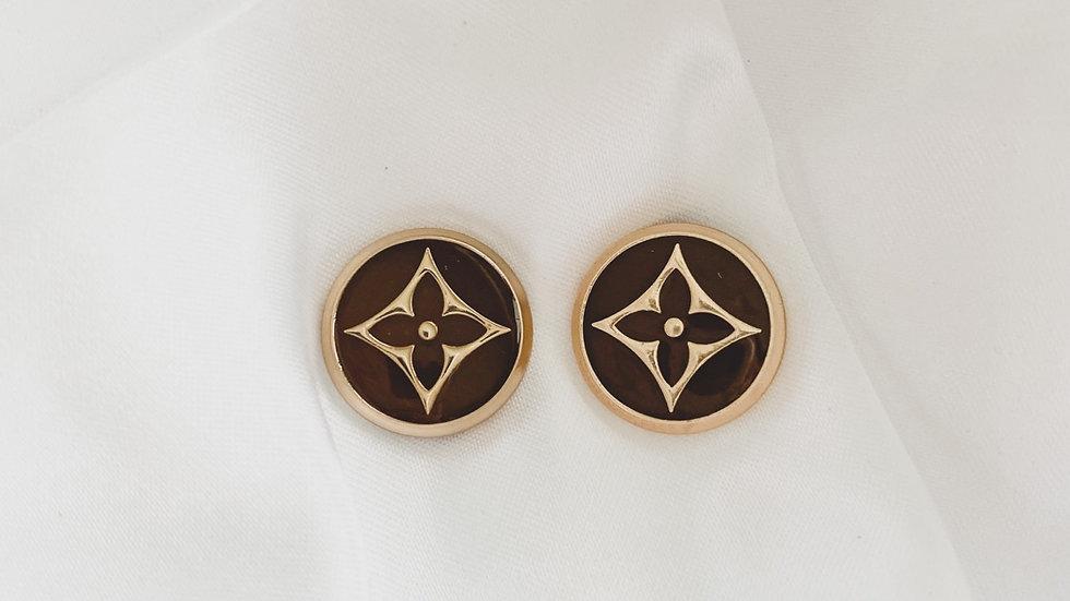 LV Star Earrings