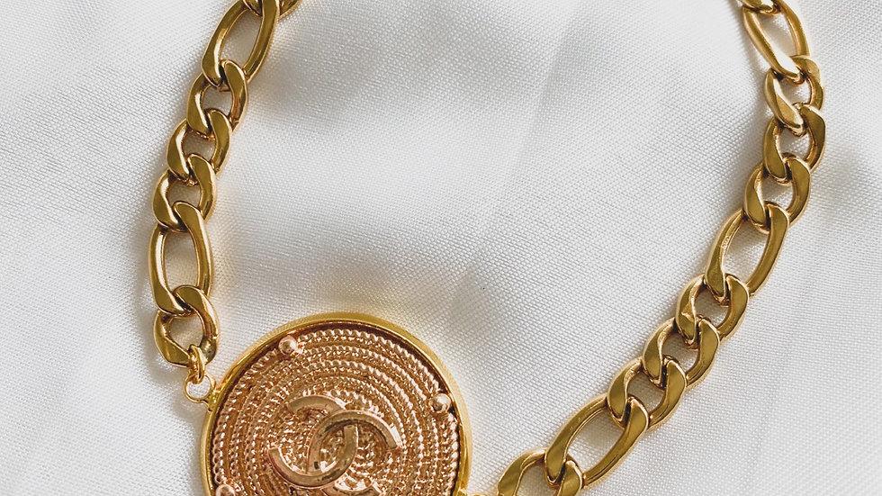 Medallion CC Bracelet
