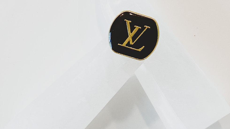 Chocolate LV Ring