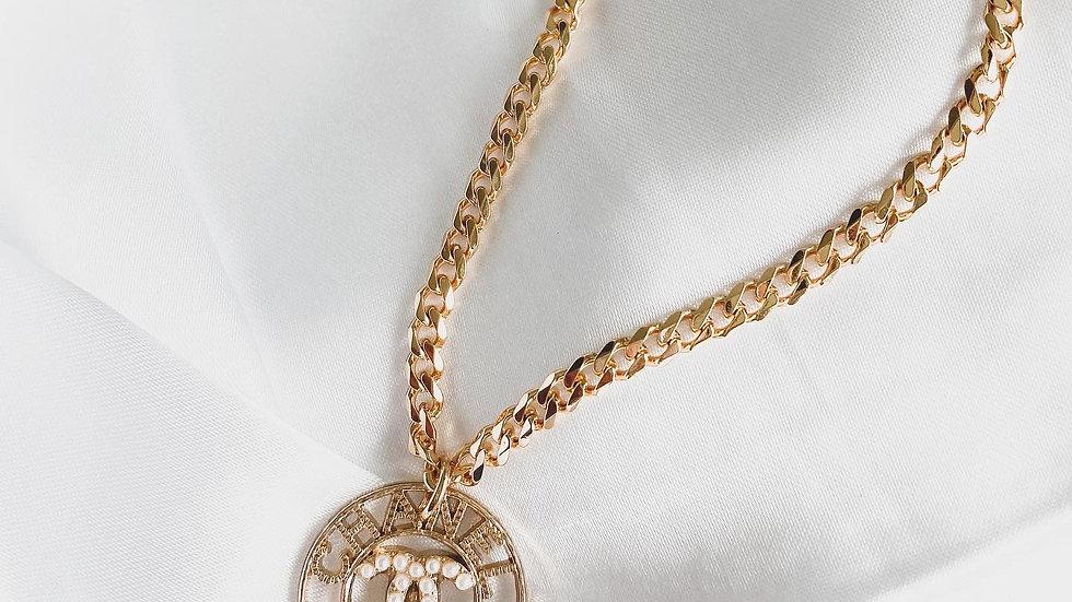 Parisian CC Necklace