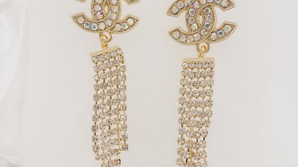 Glamorous CC Earrings