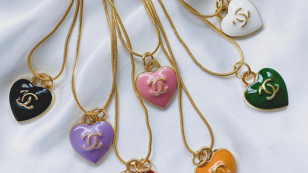 Heart CC Necklace