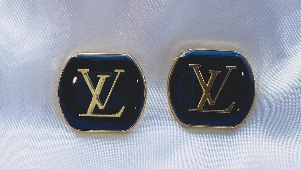 LV Noir Earrings
