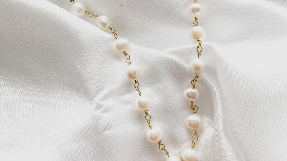 Amor CC Pearl Necklace
