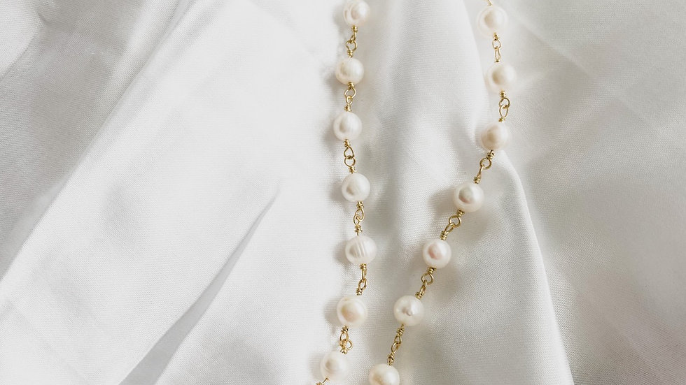 Duchess CC Pearl Necklace