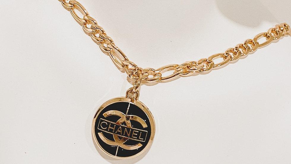 Noir CC Necklace