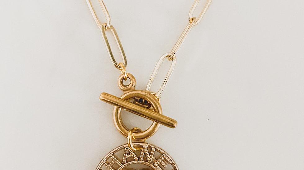 Paris CC Necklace