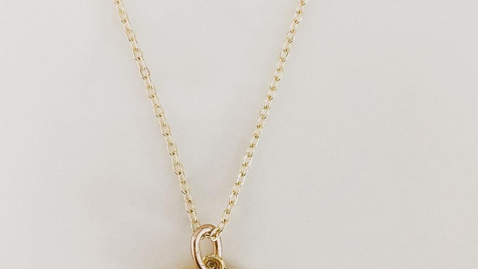 Golden CC Necklace