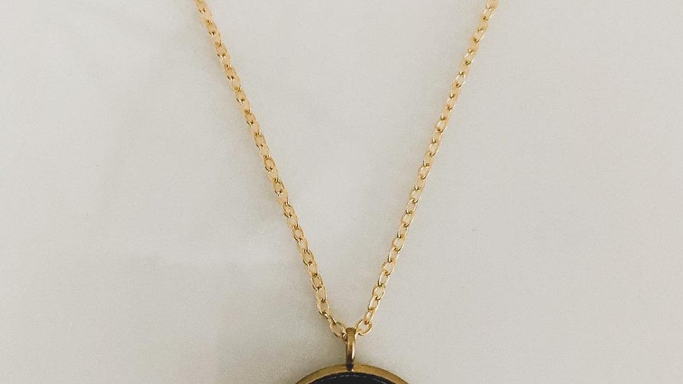 Midnight LV Necklace