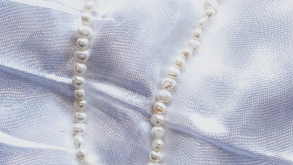 Goddess Pearl Dior Necklace